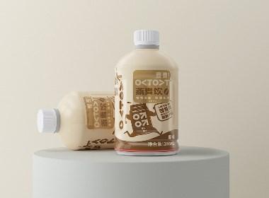 麦麦OATOAT植物蛋白燕麦饮包装设计