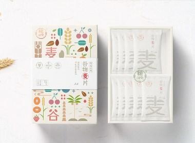 粮司令丨即食水果谷物麦片丨包装设计