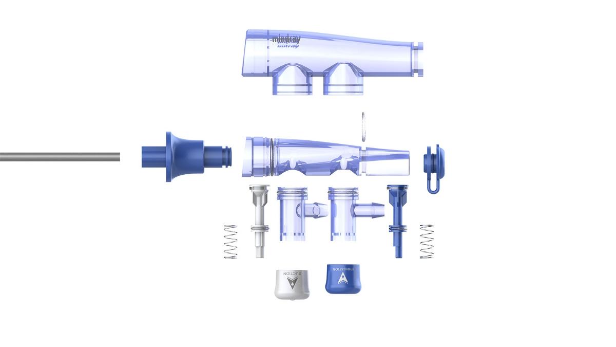 医疗产品设计中的一次性微创冲洗管设计