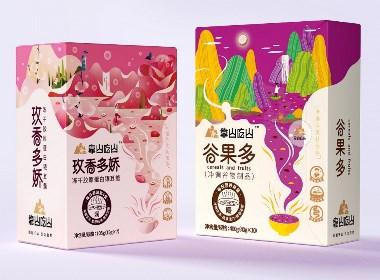 包装界的新中式—扬子江?靠山吃山营养代餐品牌包装设计|厚启设计