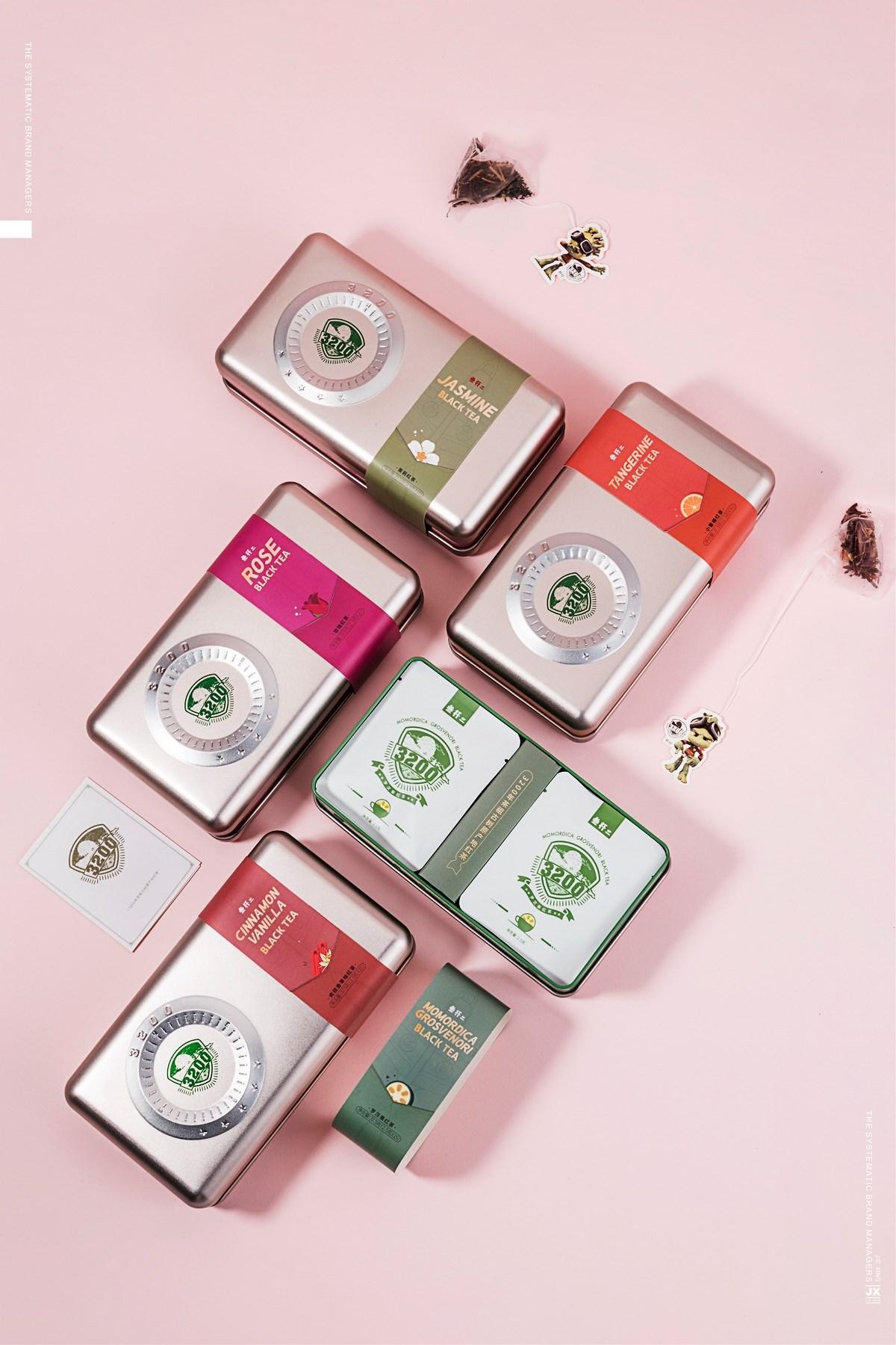 皆行新式茶饮包装设计×叁杄二