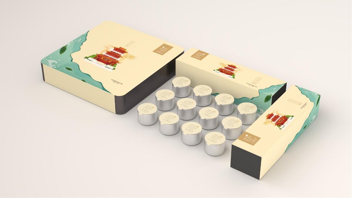 小罐茶包装设计