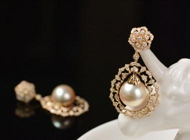 羽化成仙|珍珠耳环