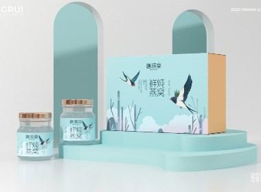 鲜炖燕窝罐头 即食燕窝 品牌包装设计©刘益铭 原创作品