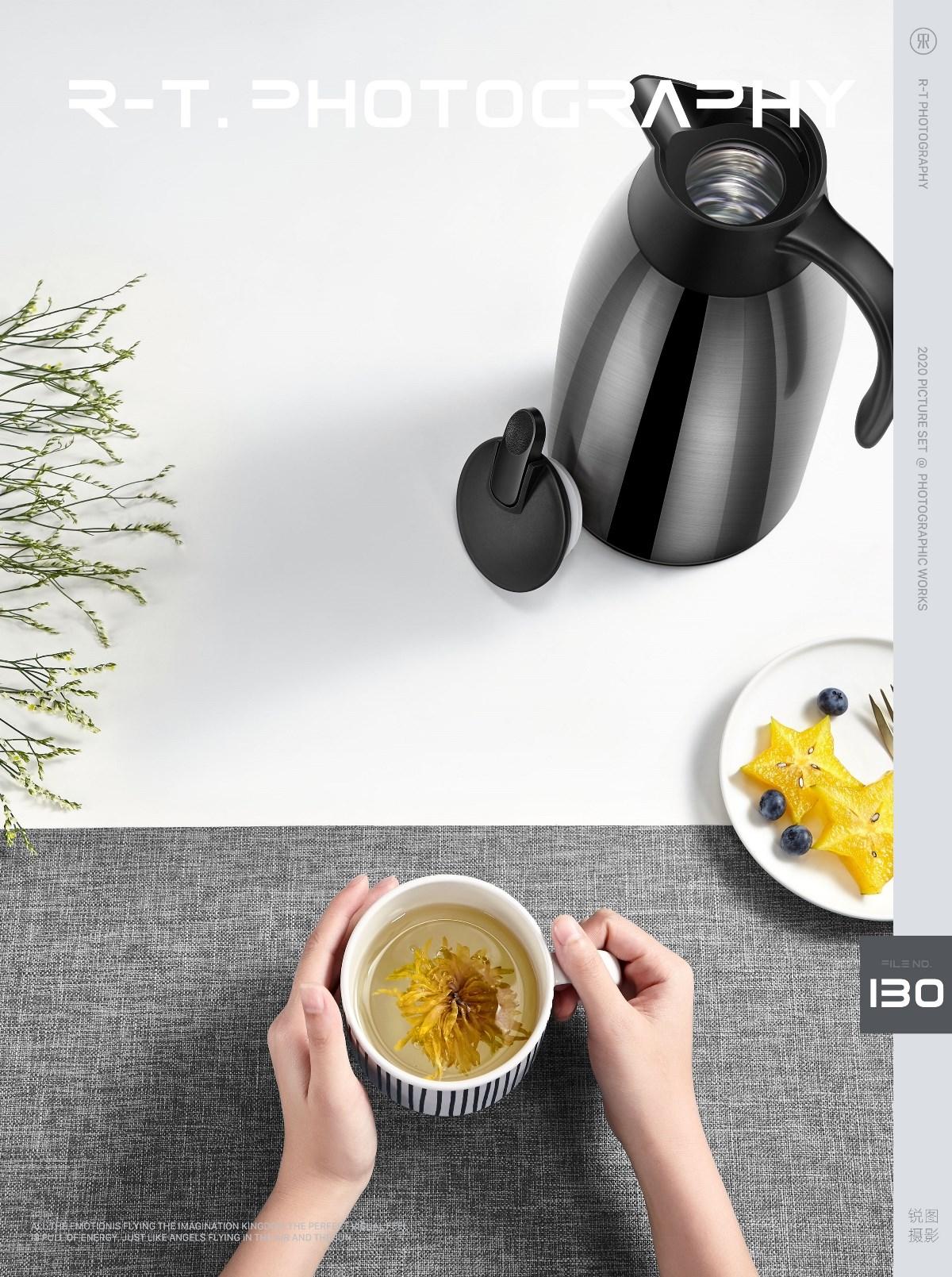 保温壶 水壶拍摄 一个好壶不锈钢材质