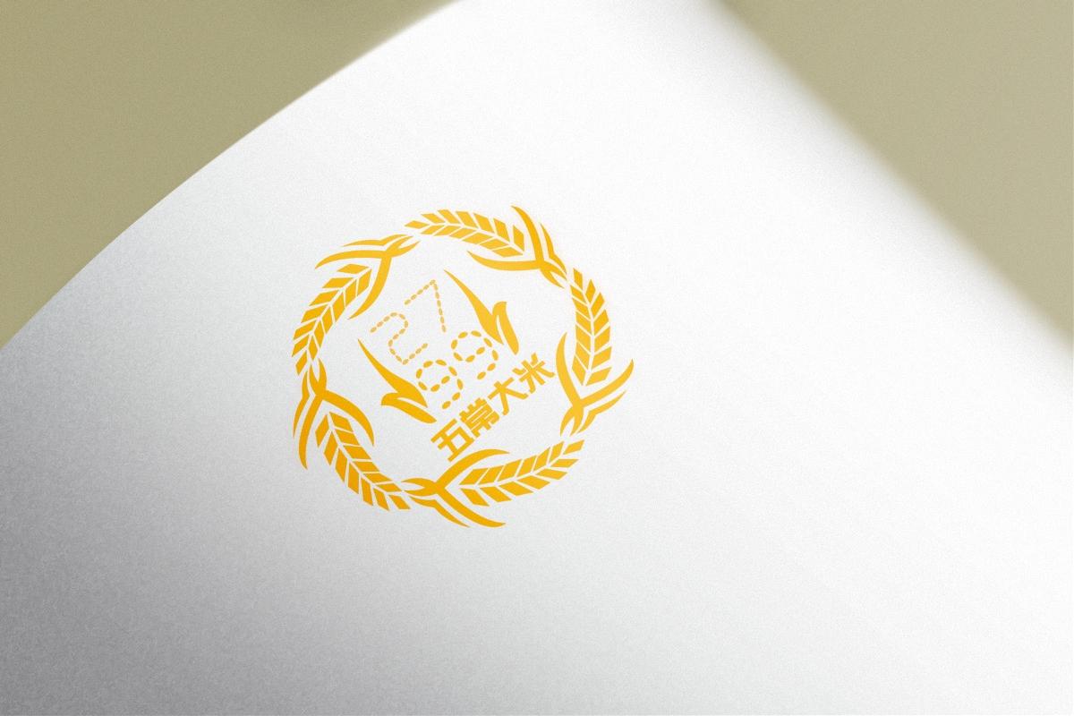 五常大米logo