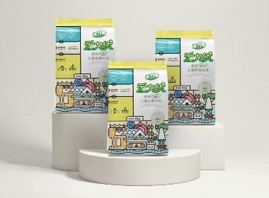 米力奇丨糯米胶丨吉祥物IP与包装设计