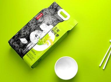 東北大米 五常稻花香 盤錦大米 長粒香 珍珠米 插畫 食品 包裝 設計
