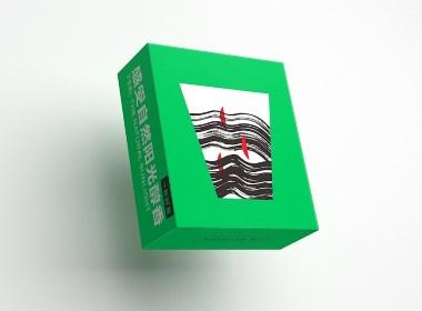 一杯好茶 高山特產 水墨 插畫 手繪 茶葉 香茶 食品 包裝 設計