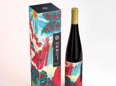 山楂酒包装设计