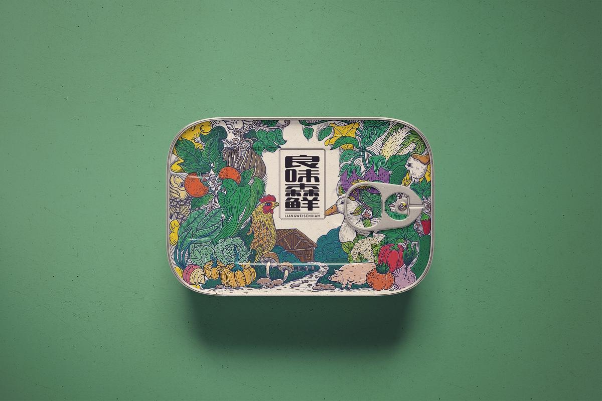 良味森鲜礼盒设计