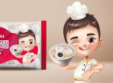 汤圆包装设计水饺包装设计