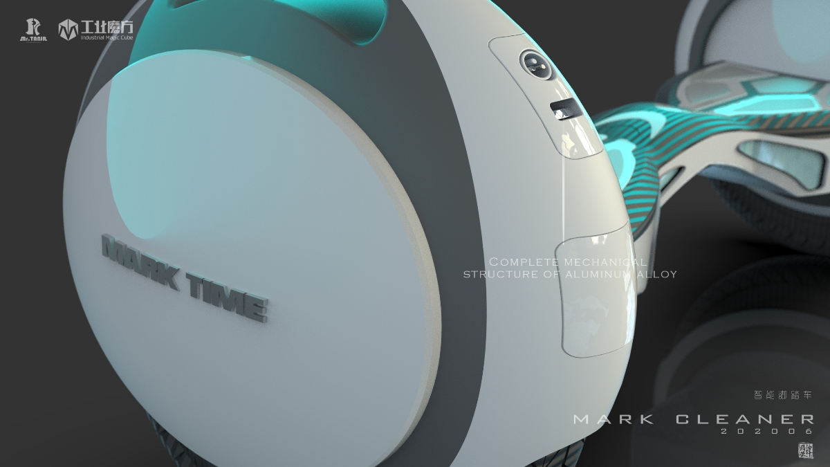 MARK TIME飞步脚踏车创新设计/产品外观设计| 谭爵荣