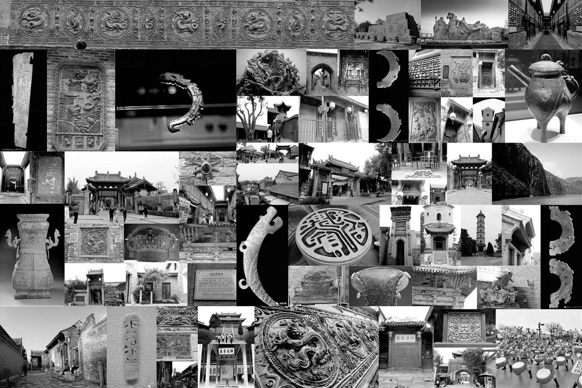 天赐五谷原浆酒—大禹凿龙门,自然天成禹门春酒——厚启创作