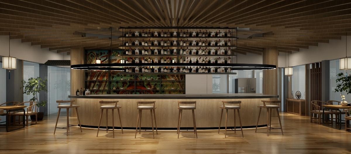大雁塔陕西名人馆酒吧设计