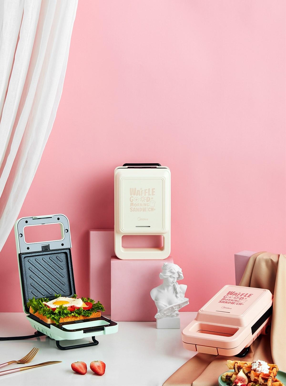 电商摄影|美的华夫饼机
