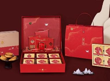 【方森园】中秋月饼礼盒包装设计——《瑞月盈门》