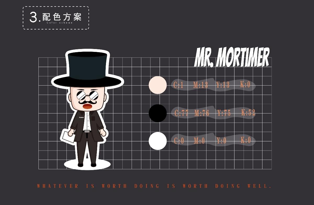 打印耗材吉祥物 喷墨先生IP形象吉祥物卡通形象设计