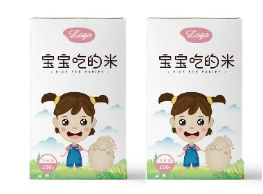 宝宝米包装设计