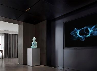 零次方作品 | 北京800㎡会所 旧物新历·现代博物馆会所