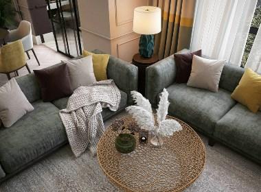 现代居所 - 极简的浪漫与舒适感相结合
