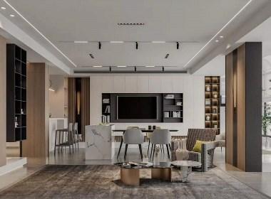 北欧现代轻奢家居设计。