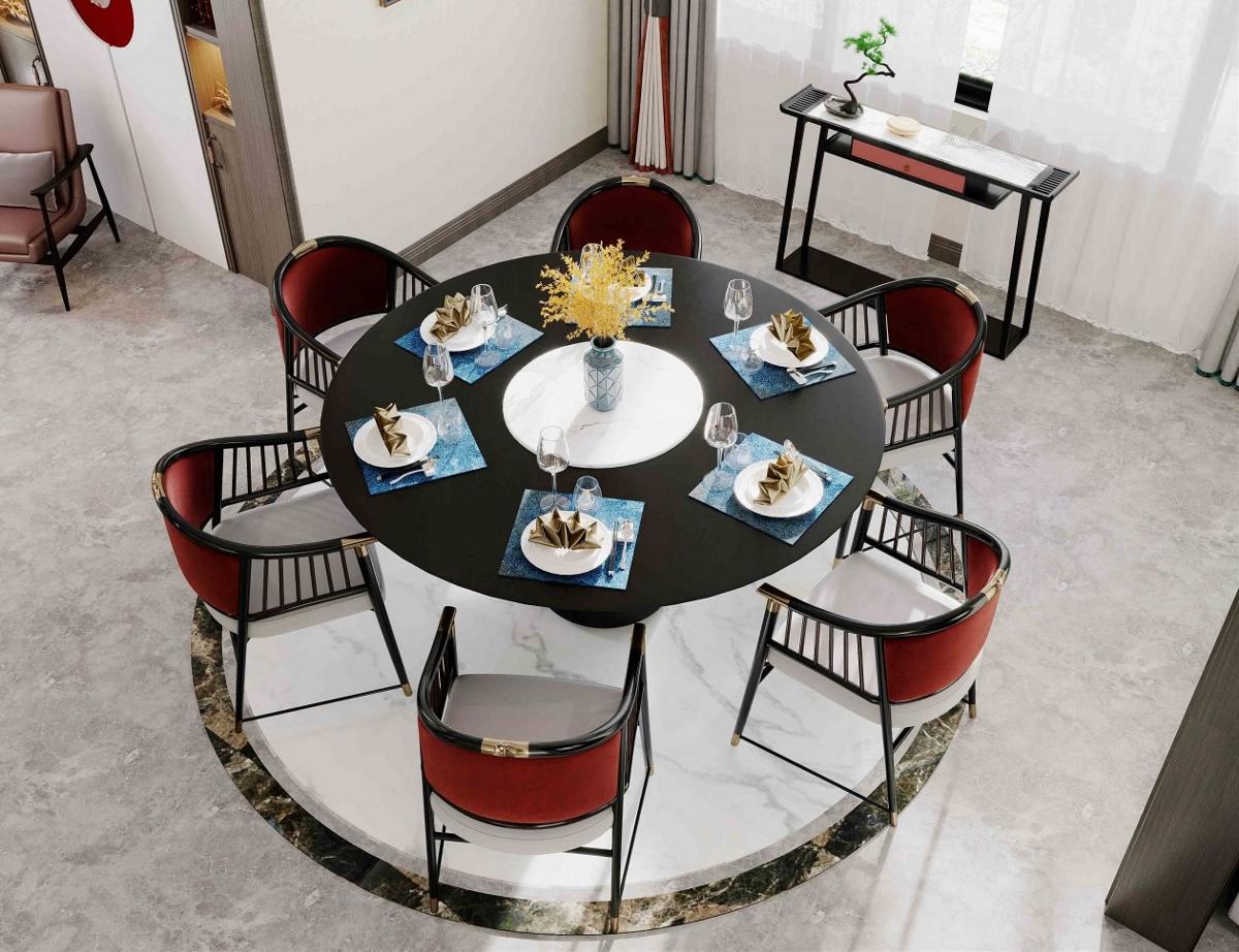 新中式客餐厅案例