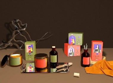 《野》 精油护肤品 精油香薰品牌包装设计
