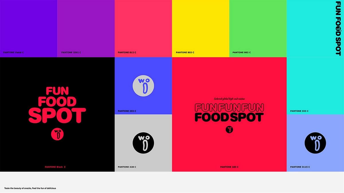 WOO乐趣食点食品品牌形象设计