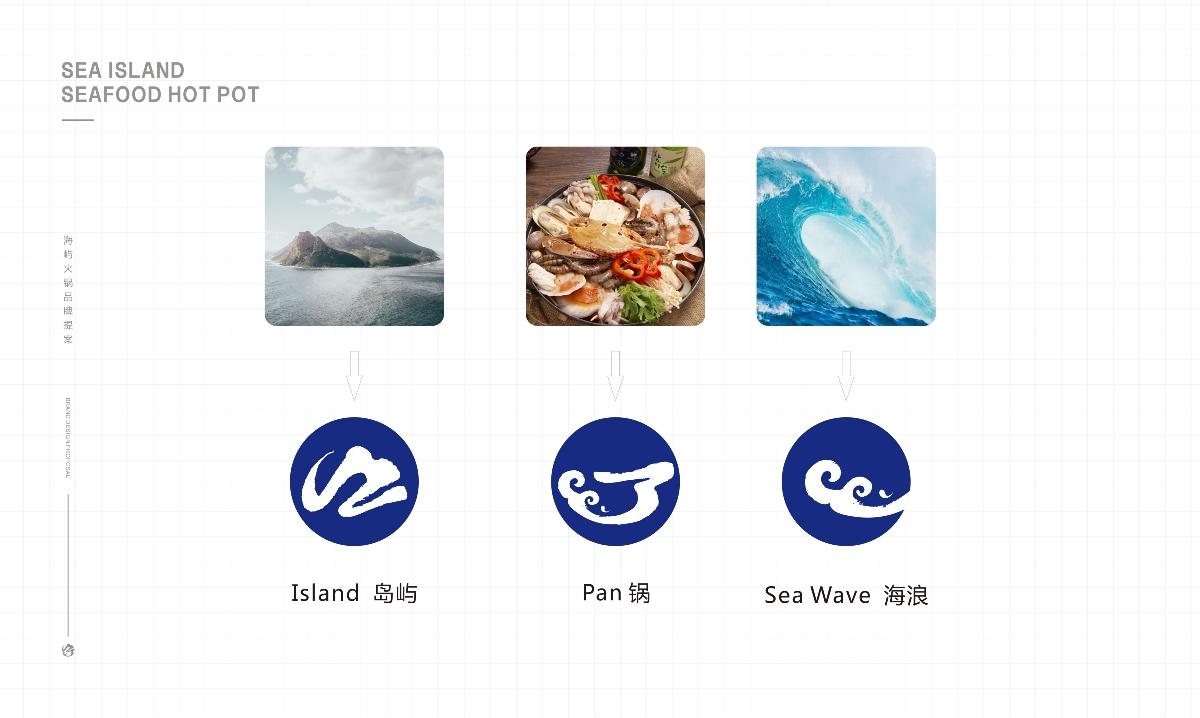 餐飲品牌設計 — 海嶼火鍋