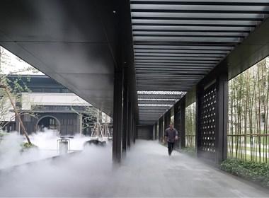 深圳臻品设计   穿林听雨、沉浸幸福邻里 · 富田城入园大堂
