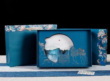 满庭芬芳普洱茶福鼎白茶茶饼包装礼盒