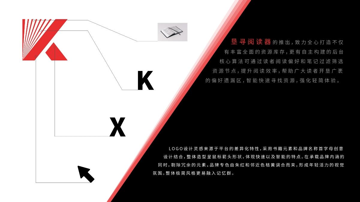 品牌设计案例——垦寻阅读器品牌LOGO设计