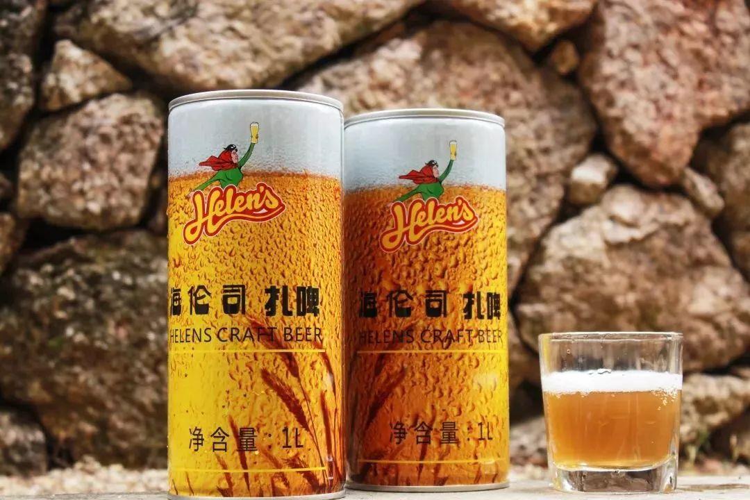古一设计助力海伦司的小麦发酵扎啤包装设计,顺便给大家送对象!