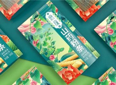 磨緣山藥粉條—徐桂亮品牌設計