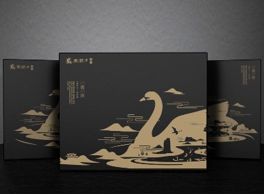 熏鹅礼盒x小蜥/武夷山特产熏鹅包装设计