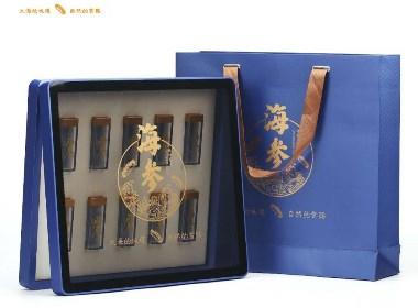 海参包装礼盒包装盒设计