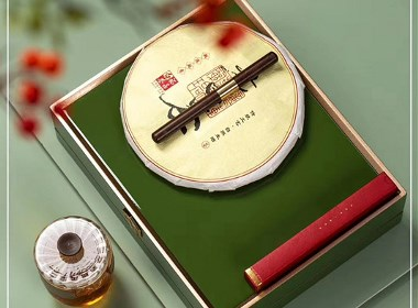高档实木盒钢琴烤漆木盒普洱茶饼包装盒礼盒设计