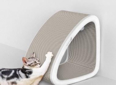 哈士奇设计 -  猫抓板