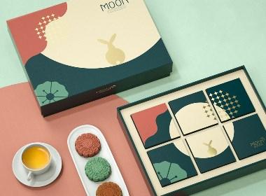月餅禮盒包裝設計模板 by 星設想