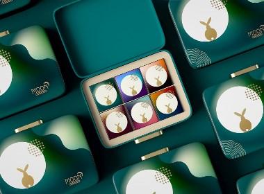 月饼礼盒包装设计模板 by 星设想设计成品直卖网
