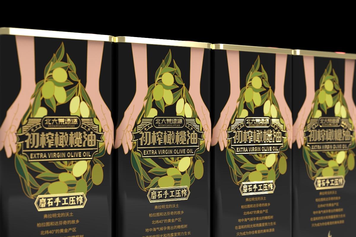 美威创意—北大荒橄榄油