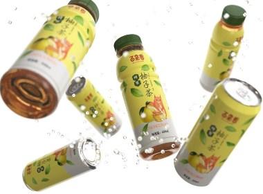 蜂蜜柚子茶 混合果汁飲料 · 百果香 / 劉益銘 × 原創作品