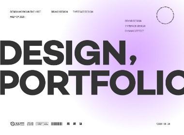 一小份作品集 · brand & typeface