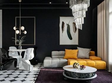 气质优雅的低奢空间,演绎非凡气质格调!