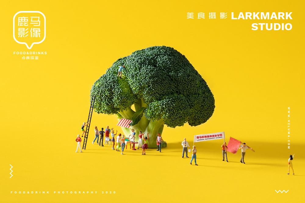 用食物带你去小人国奇幻世界-很治愈的美食摄影