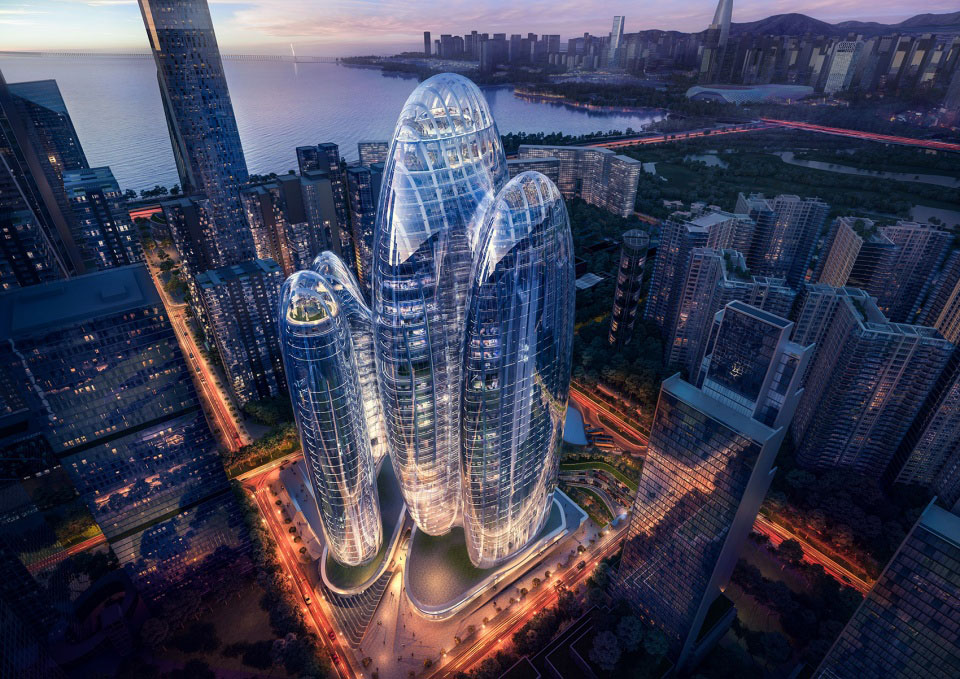 OPPO深圳总部商业空间设计:科幻的外表下,是惊艳的内涵!