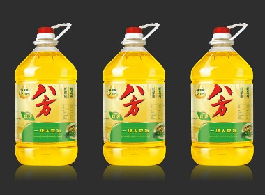 食用油包装标签设计