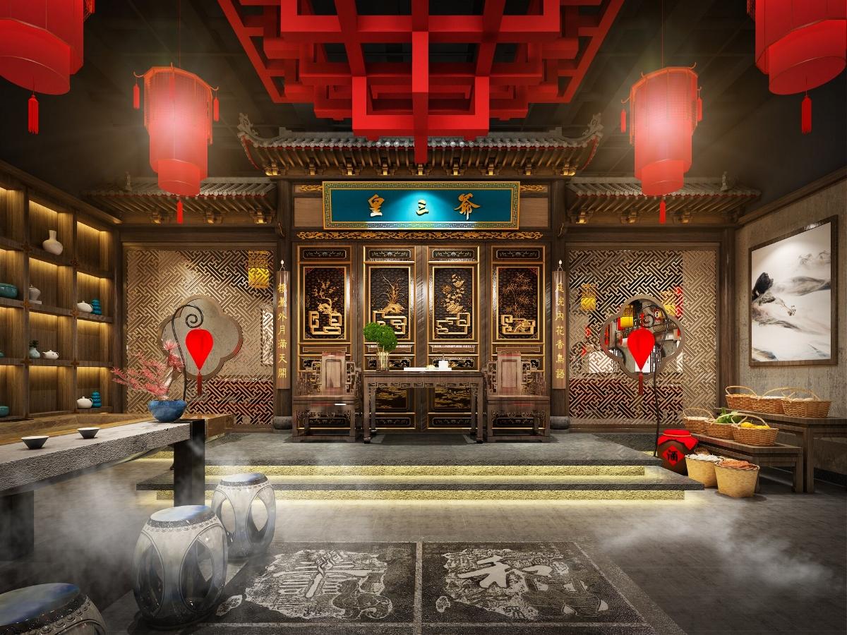 餐饮品牌空间设计|「品牌升级」| 皇三爷火锅