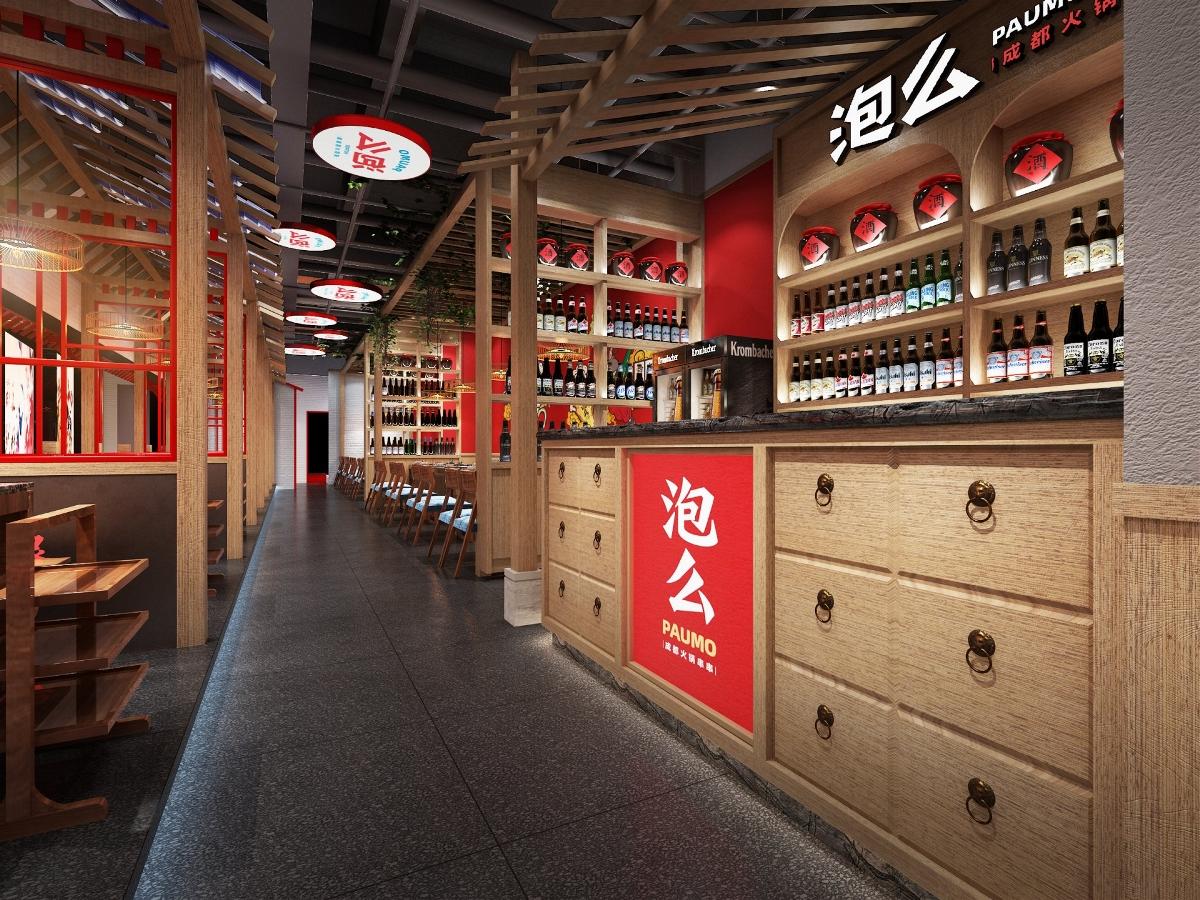 餐饮品牌空间设计 |「原创」| 泡么火锅串串